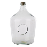 Esschert Open Terrarium Fles 15 Liter