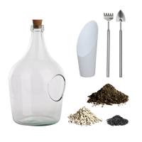 Esschert Open Terrarium Fles 3 Liter Set