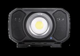 ALS LED Bouwlamp met Bluetooth Speaker Bedraad & Oplaadbaar 2000 Lumen