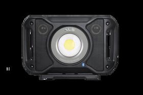 ALS LED Bouwlamp met Bluetooth Speaker Bedraad & Oplaadbaar 5000 Lumen