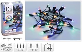 Kerstverlichting Kerstboomverlichting 10 LED Multi 2.6 Meter