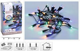 Kerstverlichting Kerstboomverlichting 20 LED Multi 3.9 Meter