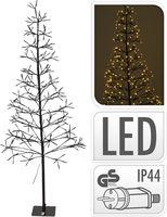 Kerstboom met verlichting 280 LED 150cm