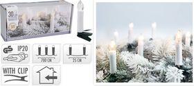 Kaarsenverlichting LED warm wit voor kerstboom