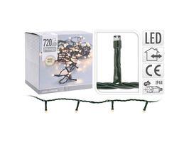 Kerstverlichting 720 LED warm wit buiten/binnen 54 meter
