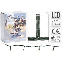 Kerstverlichting LED 120 extra warm wit buiten/binnen 9 meter