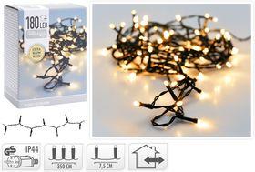 Kerstverlichting 180 LED extra warm wit buiten/binnen 13,5 meter