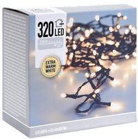 Kerstverlichting 320 LED extra warm wit buiten/binnen 24 meter