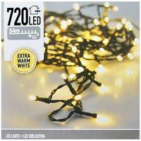 Kerstverlichting 720 LED extra warm wit buiten/binnen 54 meter