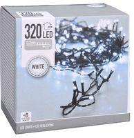 Kerstverlichting 320 LED koud wit buiten/binnen 32 meter