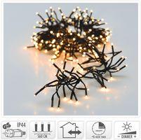 Kerst clusterverlichting 768 LED warm wit buiten/binnen 5.6 meter