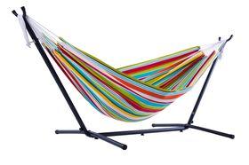 Vivere Combo Dubbele Polyester Hangmat met Standaard Ciao