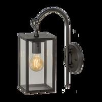 Garden Lights Wandlamp Columba 12V Zwart