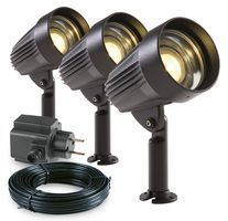 Garden Lights Tuinspot set Corvus LED 3 Stuks