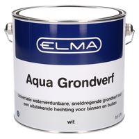 Elma Aqua Grondverf Wit 2.5L