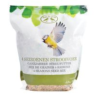 Esschert Vogelvoer | 4 Seizoenen Strooivoer 2,5 Kg