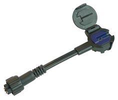 Garden Lights 12 v Male Flex Klikconnector SPT-2