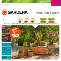Gardena Micro Drip Start Set M Voor Bloempotten Met Besproeiingscomputer