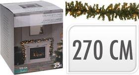 Kerst guirlande 35 LED 270cm