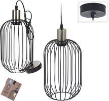 Hanglamp Metaal Zilver Industriele Art Deco Lamp Lang