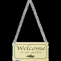 Esschert Welkombord | Welcome To Our Garden