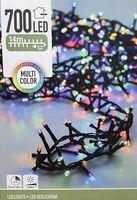Micro cluster kerstverlichting 700 LED meerkleurig buiten/binnen 14 meter