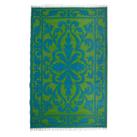Esschert Tuintapijt Perzisch Groen En Blauw