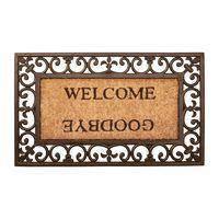 Esschert Deurmat Rubber Kokos Welcome/Goodbye