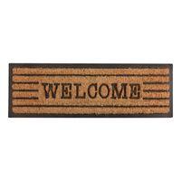 Esschert Deurmat Rubber Met Kokos Welcome 75x25