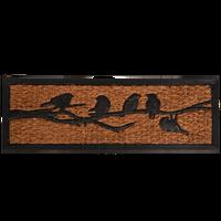 Esschert Deurmat Rubber Met Kokos Vogel Op Tak