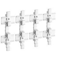 Stanley Track Wall Connector 4-stuks