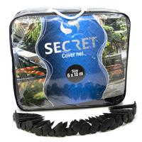 Secret cover net 6x10 meter - Vijver afdeknet - Vijvernet - Anti-reiger
