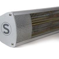 Stenda Terrasverwarmer Calor Cor Prata 1500 Watt | Terrasheater Zilver