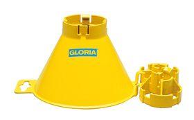 Gloria Spuitscherm 110 cm rond voor kunststof drukspuiten