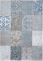 Louis de Poortere Vloerkleed Vintage Bruges Blue
