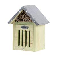 Esschert Insectenhotel S met Borstel