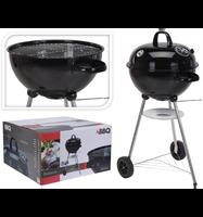 BBQ Barbecue Bolvormig 48cm Zwart