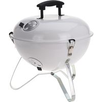 BBQ Barbecue Bolvormig 37cm Wit