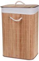 Wasmand Bamboe Opvouwbaar - Bruin