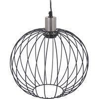 Hanglamp Metaal Zilver Industriele Art Deco Lamp