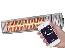 Eurom Golden 2000 Amber Smart Golden terrasverwarmer | Op Bluetooth / Smartphone