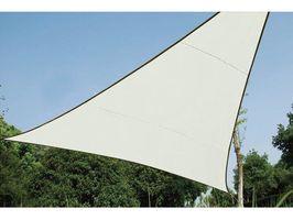 Perel Schaduwdoek Driehoek Creme 5 Meter