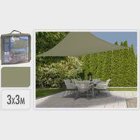 Schaduwdoek 3x3x3.0m Groen