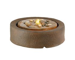 Waterornament Fire Plate