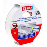 Tesa Anti-Slip Tape Transparant 25 mm 5 Meter