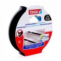 Tesa Anti-Slip Tape Zwart 25 mm 5 Meter