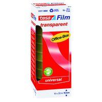 Tesa Film Plakband Transparant 15 mm 33 Meter - 10 Stuks