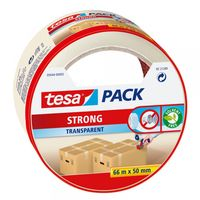 Tesa Verpakkingstape Strong Transparant 50 mm 66 Meter