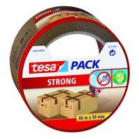 Tesa Verpakkingstape Strong Bruin 50 mm 66 Meter