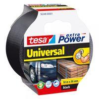 Tesa Extra Power Universal Tape Zwart 50 mm 10 Meter